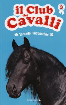 Tornado l'indomabile. Il club dei cavalli. Vol. 3 - Sylvie Baussier,Olivier Rabouan - copertina