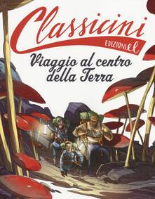 Viaggio al centro della terra di Jules Verne - Alessandro Gatti - copertina