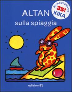 Libro Sulla spiaggia Tullio F. Altan