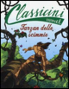 Foto Cover di Tarzan delle scimmie di Edgar Rice Burroughs, Libro di Tommaso Percivale, edito da EL