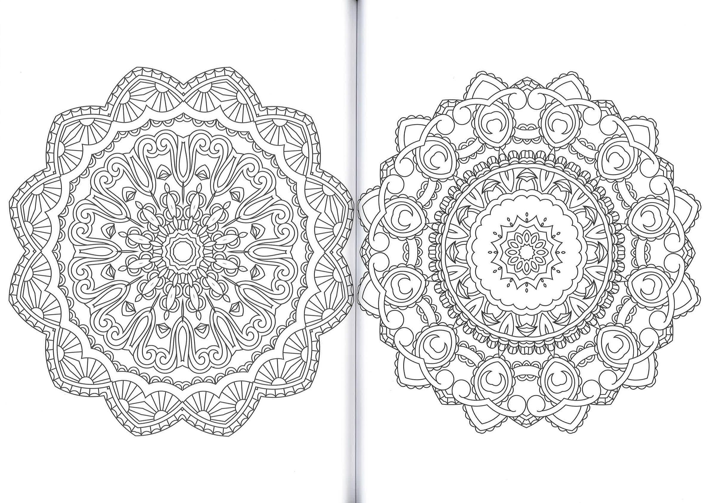 mandala  armonia per lo spirito  100 disegni zen da