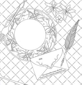 Libro Alice e il paese delle meraviglie. Album da colorare anti-stress Amily Shen 4