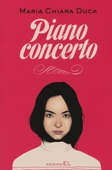 Piano concerto - Maria Chiara Duca - copertina