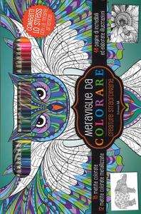 Libro Creature straordinarie. Meraviglie da colorare  0