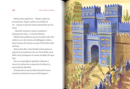 Libro Di popoli e tempi lontani. Storie da un mondo antico Stefano Bordiglioni 2