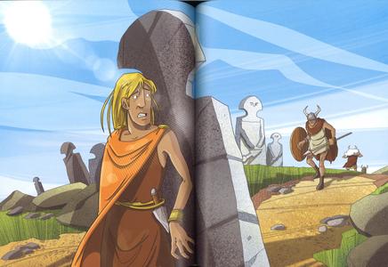 Libro Di popoli e tempi lontani. Storie da un mondo antico Stefano Bordiglioni 3