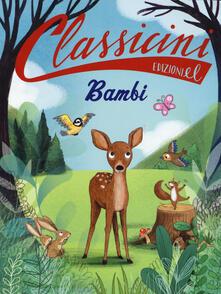 Bambi da Felix Salten - Sarah Rossi - copertina