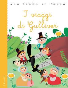I viaggi di Gulliver da Jonathan Swift. Ediz. a colori - Stefano Bordiglioni - copertina