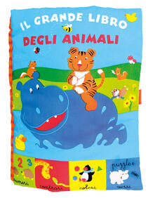 Il grande libro degli animali - copertina