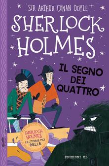 Sherlock Holmes. Il segno dei quattro - Arthur Conan Doyle,Stephanie Baudet - copertina