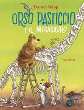 Copertina  Orso Pasticcio e il megasauro
