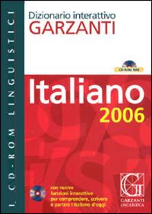 Ascotcamogli.it Dizionario Garzanti di italiano 2006. CD-ROM Image