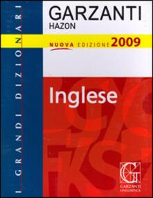 Ipabsantonioabatetrino.it Grande dizionario Hazon di inglese 2009. Ediz. bilingue Image