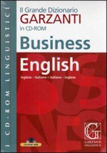 Libro Grande dizionario di business english. CD-ROM
