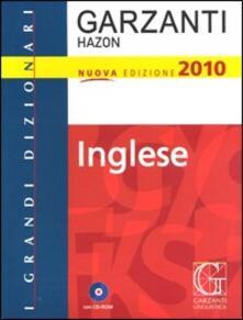 Amatigota.it Grande dizionario Hazon di inglese. Con CD-ROM Image