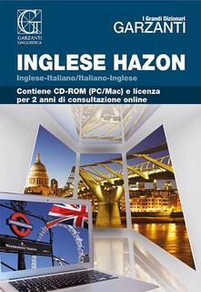 Nicocaradonna.it Il Grande dizionario Hazon di inglese 2.2. Con CD-ROM Image