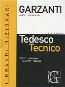 Radiospeed.it Dizionario di tedesco tecnico. Tedesco-italiano, italiano-tedesco-Dizionario delle parole nuove del tedesco tecnico Image