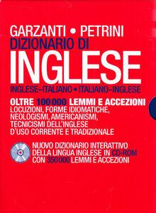 Foto Cover di Dizionario di inglese Garzanti/Petrini. Con CD-ROM, Libro di  edito da Garzanti Linguistica
