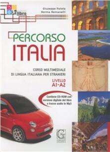 Mercatinidinataletorino.it Percorso Italia. Livello A1-A2. Con CD-ROM Image
