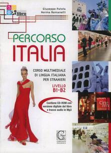 Osteriacasadimare.it Percorso Italia B1-B2. Corso multimediale di lingua italiana per stranieri. Con CD Image