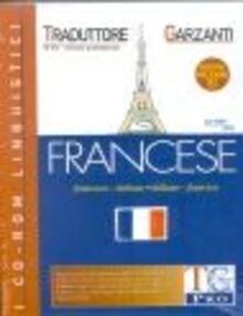 Grandtoureventi.it TG Pro versione 6.0. Traduttore Garzanti francese-italiano, italiano-francese. CD-ROM Image