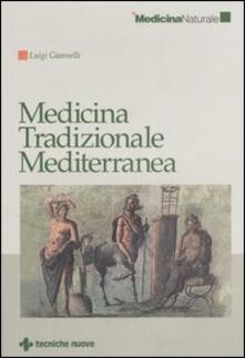 Medicina tradizionale mediterranea - Luigi Giannelli - copertina