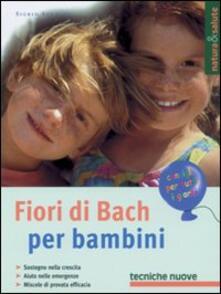 Fiori di Bach per bambini - Sigrid Schmidt - copertina
