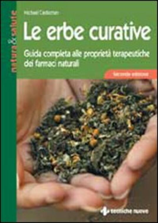 Le erbe curative - Michael Castleman - copertina
