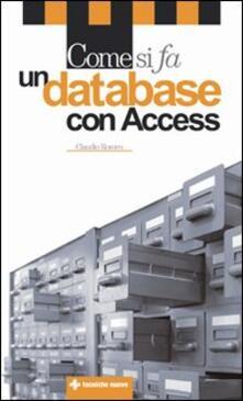 Partyperilperu.it Come si fa un database con Access Image