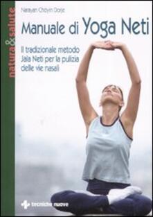 Antondemarirreguera.es Manuale di yoga neti. Il tradizionale metodo yala neti per la pulizia delle vie nasali Image