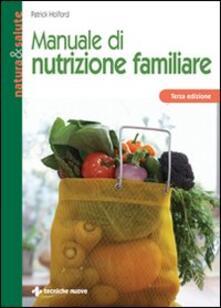 Promoartpalermo.it Manuale di nutrizione familiare Image