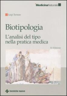 Premioquesti.it Biotipologia. L'analisi del tipo nella pratica medica Image
