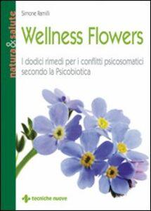 Libro Wellness flowers Simone Ramilli