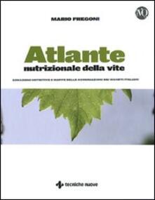 Aboutschuster.de Atlante nutrizionale della vite. Zonazioni nutritive e mappe delle concimazioni dei vigneti italiani Image