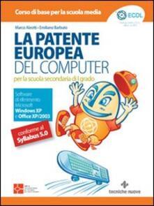 Tegliowinterrun.it La patente europea del computer. Per la scuola secondaria di primo grado Image