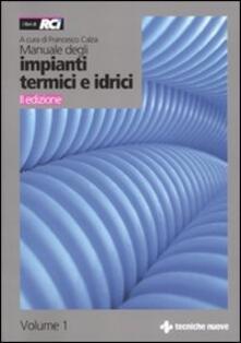 Squillogame.it Manuale degli impianti termici e idrici Image