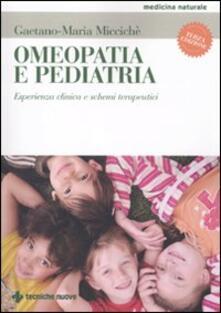 Daddyswing.es Omeopatia e pediatria. Esperienza clinica e schemi terapeutici Image