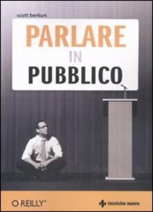 Writersfactory.it Parlare in pubblico Image