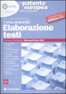 Antondemarirreguera.es La patente europea del computer. Corso avanzato: elaborazione testi Image