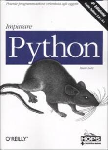 Letterarioprimopiano.it Imparare Python Image