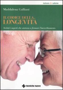 Aboutschuster.de Il codice della longevità. Svelati i segreti che aiutano a fermare l'invecchiamento Image