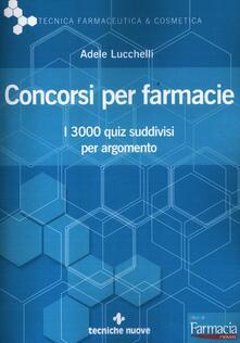 Associazionelabirinto.it Concorsi per farmacie. I 3000 quiz suddivisi per argomento Image