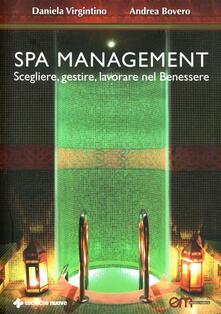 Winniearcher.com Spa Management. Vivere, gestire, lavorare nelle Spa Image