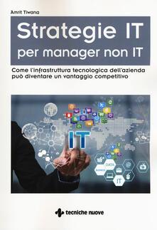 Squillogame.it Strategie IT per manager non IT. Come l'infrastruttura tecnologica dell'azienda può diventare un vantaggio competitivo Image
