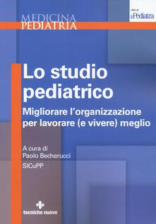 Nicocaradonna.it Lo studio pediatrico. Migliorare l'organizzazione per lavorare (e vivere) meglio Image