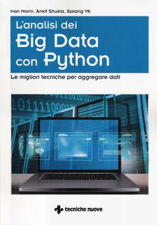 Amatigota.it L' analisi dei big data con Python. Le migliori tecniche per aggregare i dati Image