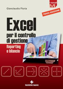 Excel per il controllo di gestione. Reporting e bilancio - Gianclaudio Floria - ebook