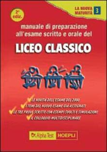Manuale di preparazione allesame scritto e orale del Liceo classico.pdf