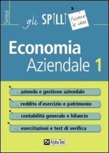 Libro Economia aziendale. Vol. 1 Marco Bianchi