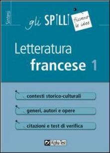 Letteratura francese. Vol. 1.pdf
